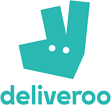 Order our food via Deliveroo